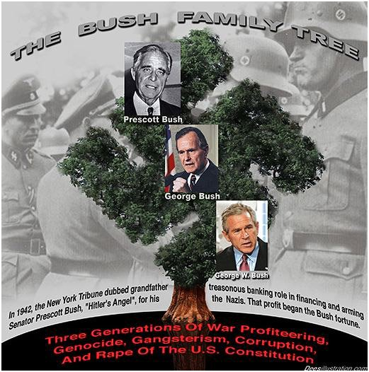 Click here to go to an article about author Naomi Wolf's uncovering of the Bush family's Nazi ties!