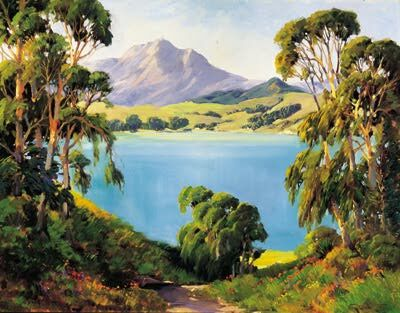 Click here for more of George Demont Otis' wonderful landscape paintings!